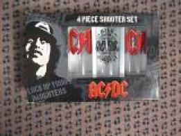 4 verres,shooters d'ACDC