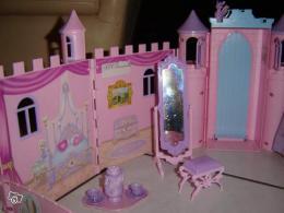 mini chateau barbie