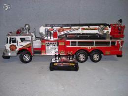 camion de pompier filoguide