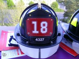 Casque de pompier US FDNY Ladder 18