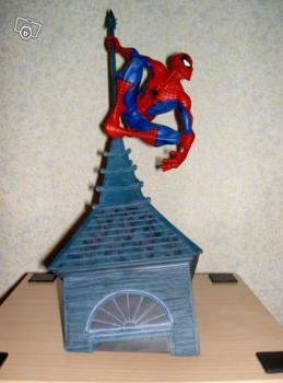 Diorama Attakus Spiderman
