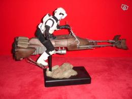 Diorama Sideshow Star Wars Scoot Trooper