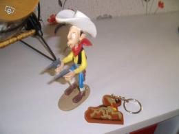 Figurine Lucky Luke et Rantanplan collector