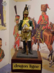 Figurine soldat 1er empire officier de dragon ligne