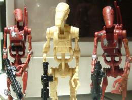 Figurines Droides Federation Commerc Star Wars