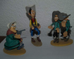 Lot de Figurines resine lucky luke daltons