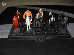 Lot de figurine Marvel