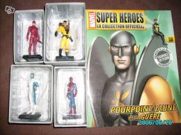 Lot de figurines Marvel