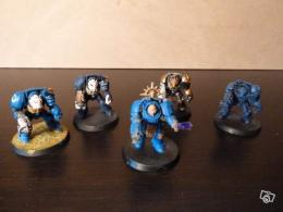 Lot de figurines Space Marine Terminators