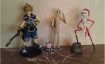 Lot de figurines kingdom hearts