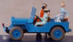 Miniature jeep Tintin
