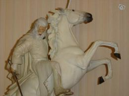 Statuette Gandalf chevauchant Shadowfax Sideshow détail
