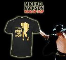 T-Shirt Homme King of Pop- Michael Jackson
