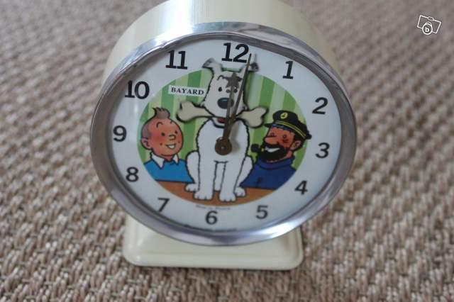 Très Réveil mécanique Tintin collection OC17