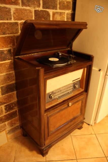 Ancienne Radio Tourne Disque La Voix De Son Maitre Collection