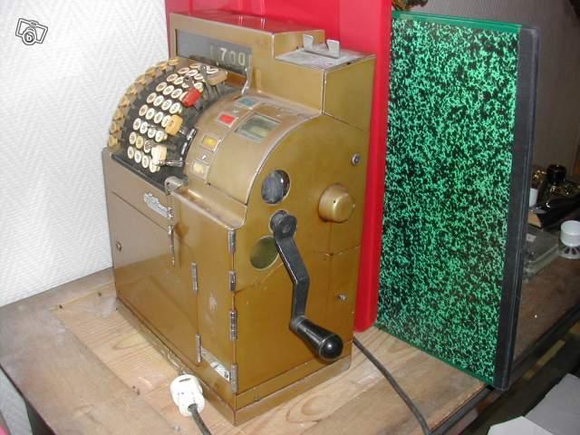 Super Ancienne caisse enregistreuse 1944 collection PQ27