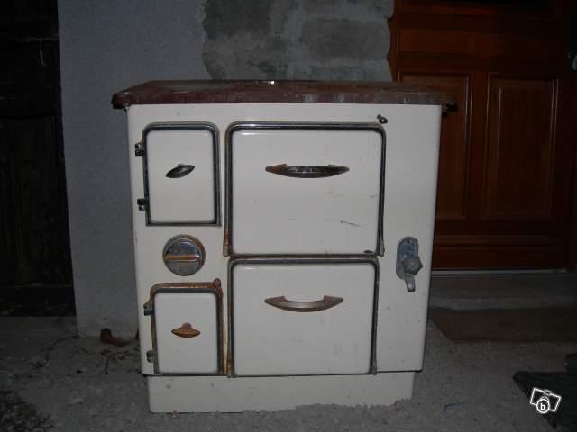 Souvent Ancienne cuisinière à bois collection QA71
