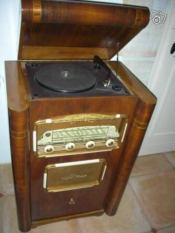 Ancienne Radio Tourne Disque Tsf Collection