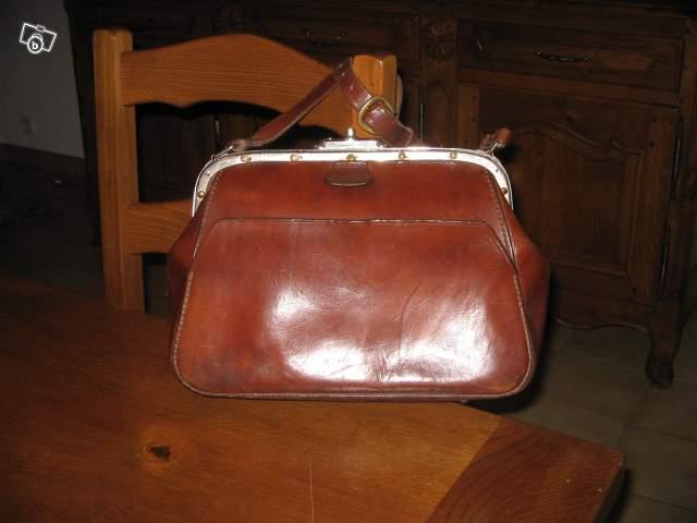 4958b9a5ac Ancienne sacoche de receveur collection