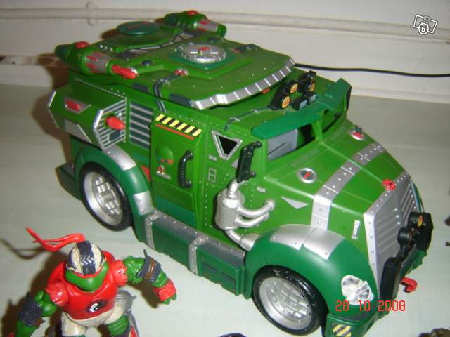 camion tortues ninja collection