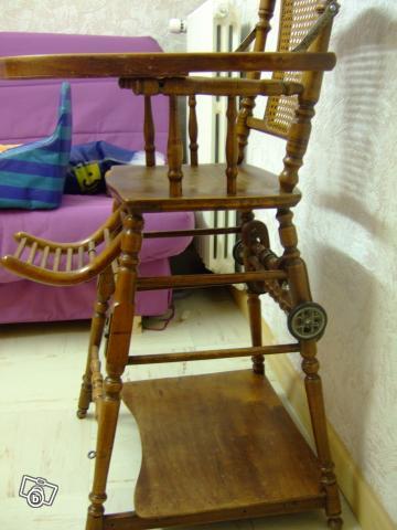 Chaise Haute Bebe Ancienne Bois Chaise Tolix Fr
