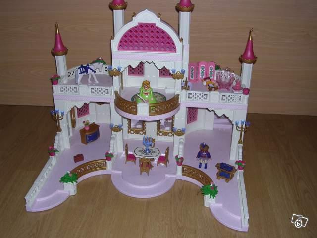 Château de princesse Playmobil collection
