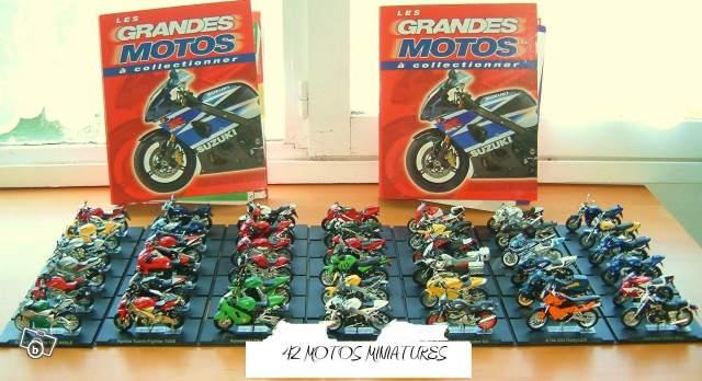 maquette moto de collection