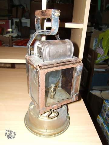 lampe titus en cuivre