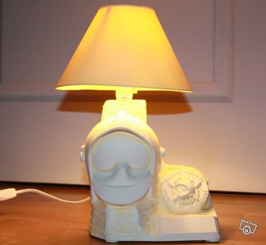 Lampe De Chevet Sapeur Pompier Collection