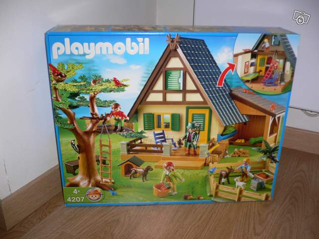 Maison Forestière Playmobil Collection