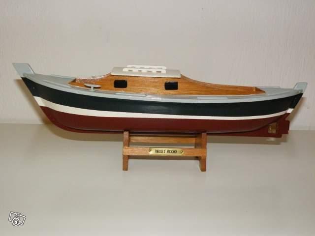 Maquette Bateau Pinasse D Arcachon Collection