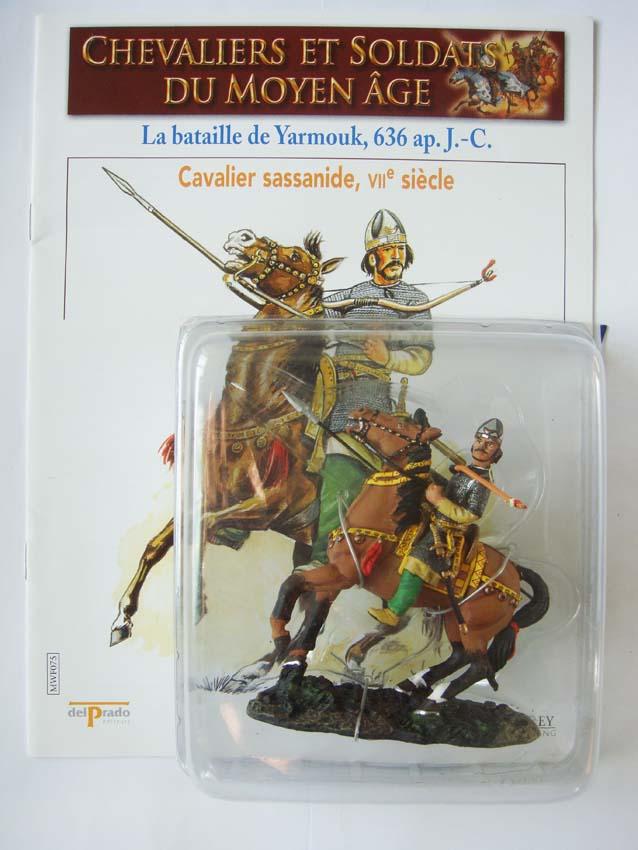 Figurine Moyen-Age Chevaliers et soldats du Moyen-âge Cavalier sassanide Yarmouk