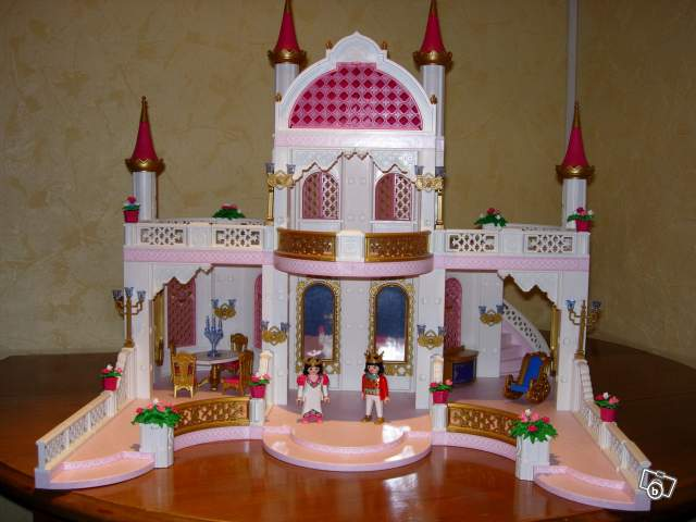 Le chateau de princesse playmobil - Vendelices