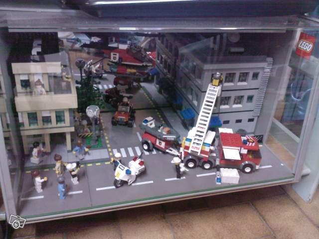 Rare jeu Lego de collection (pompiers en action) collection