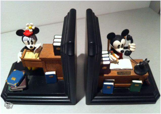 Serre Livres Disney Mickey et Minnie collection