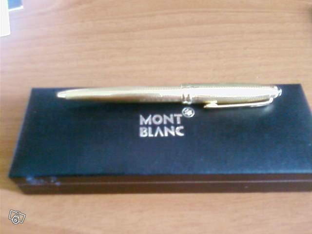 mont blanc stylo blanc prix
