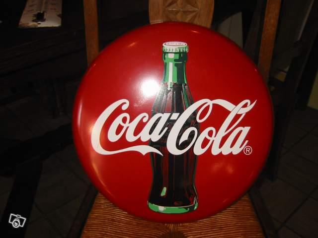 57f19c069a2 Ancienne plaque émaillée Coca Cola collection
