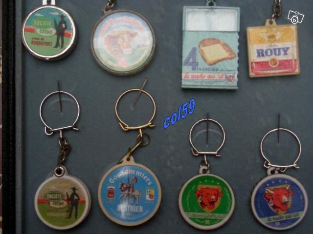 16 porte cl s pub des ann es 60 39 fromage 39 collection for Porte cle annee 60 70