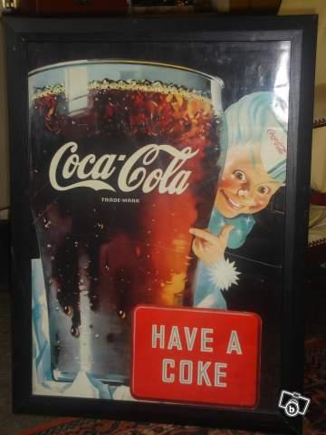 affiche coca cola des ann es 60 have a coke collection. Black Bedroom Furniture Sets. Home Design Ideas