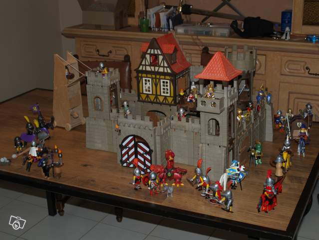 Ancien Ch 226 Teau Fort Playmobil Collection