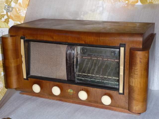 ancien poste de radio collection. Black Bedroom Furniture Sets. Home Design Ideas