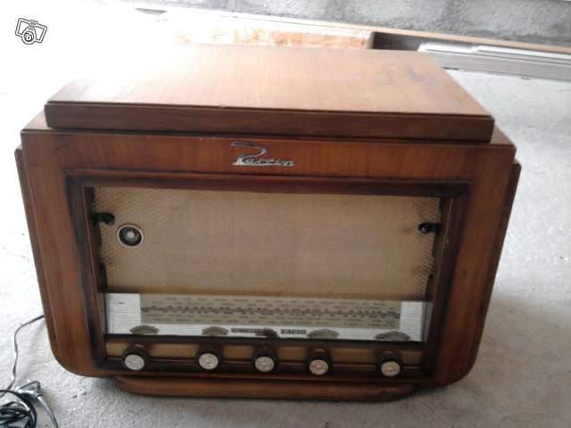 ancien poste radio tsf sonneclair superlux 1953 avec tourne disque collection. Black Bedroom Furniture Sets. Home Design Ideas