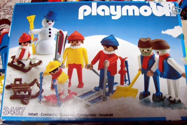 Ancien Playmobil Sports D Hiver Collection
