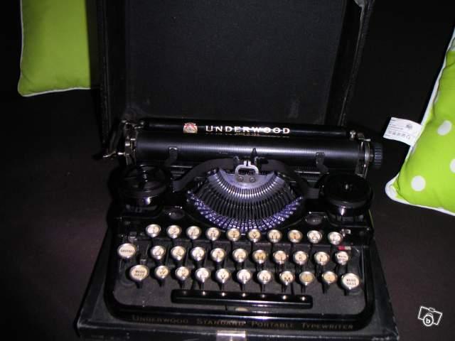 ancienne machine crire underwood 1900 collection. Black Bedroom Furniture Sets. Home Design Ideas