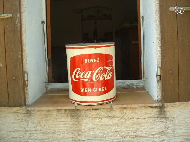 Ancienne glaci re coca cola collection - Glaciere ancienne ...