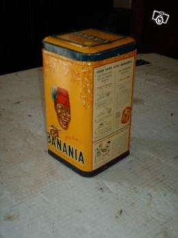 boite banania 1950 de collection collection. Black Bedroom Furniture Sets. Home Design Ideas