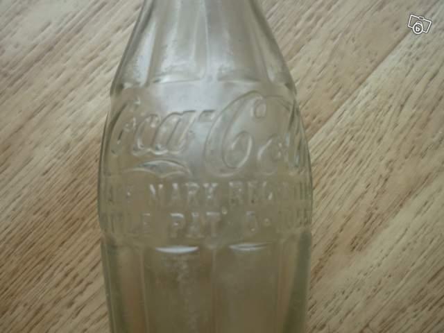 ancienne bouteille en verre coca cola collection. Black Bedroom Furniture Sets. Home Design Ideas