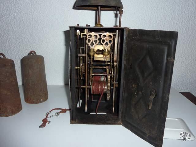 Ancienne Horloge Avec Poids Collection