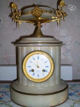 ancienne horloge en marbre collection. Black Bedroom Furniture Sets. Home Design Ideas