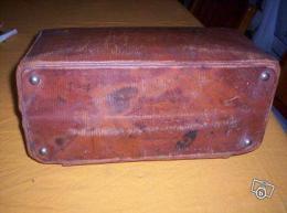 ancienne valise de voyage 1900 collection. Black Bedroom Furniture Sets. Home Design Ideas
